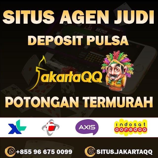 Website Pkv Games JakartaQQ Deposit Via Pulsa