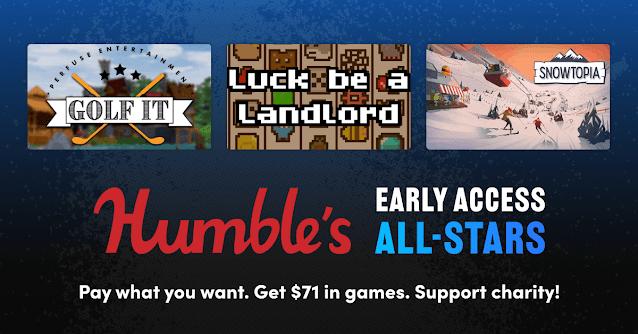 Humble's Early Access All-Stars Bundle - 12美金6款遊戲