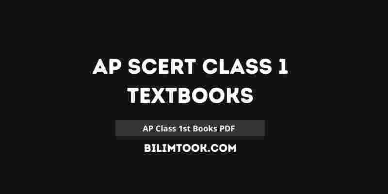 AP SCERT Class 1 Books PDF 1011 | Andhra Pradesh 1st Class Books