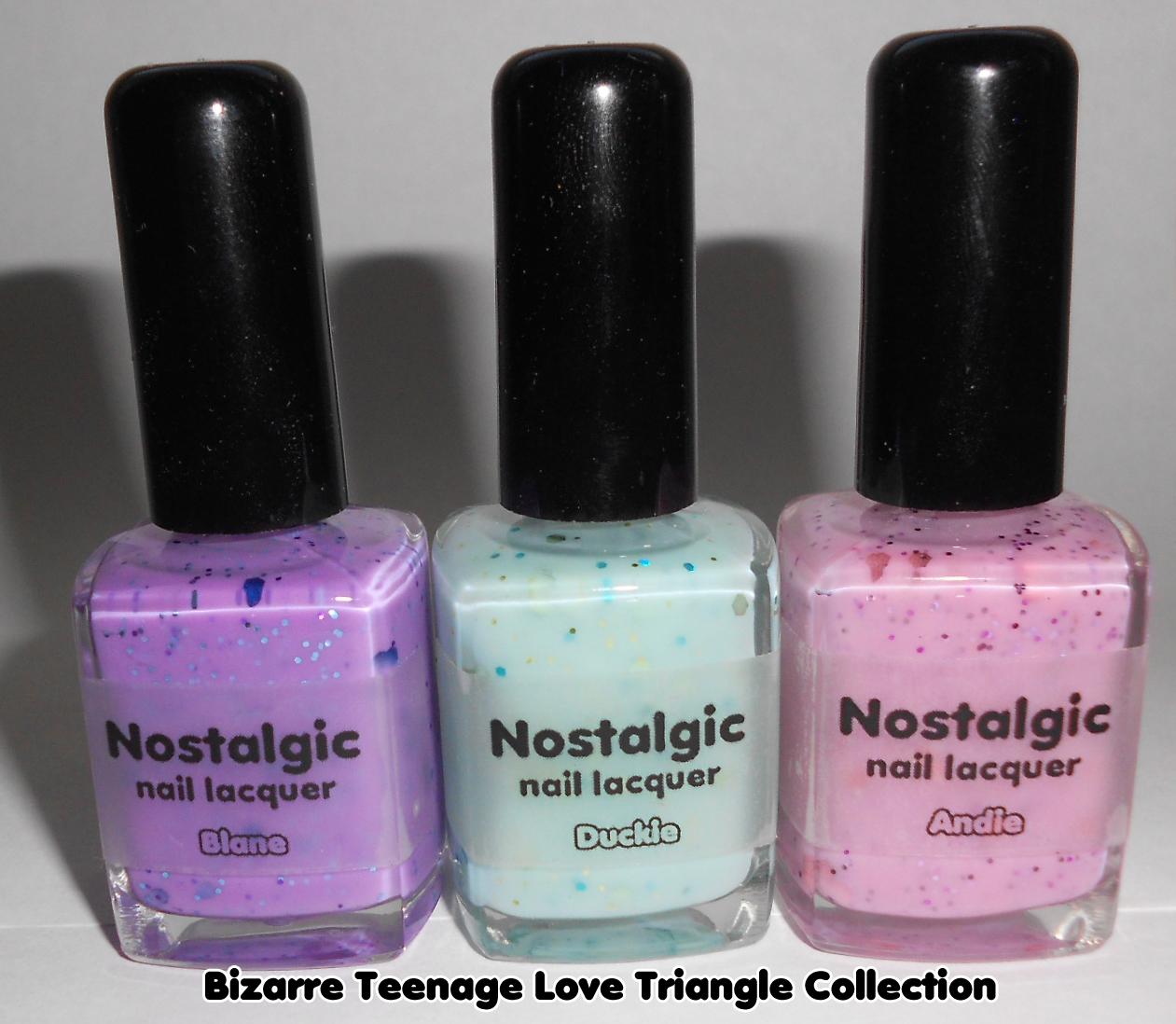 The Sugar Cube Nostalgic Nail Lacquer Bizarre Teenage Love