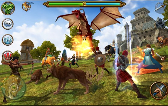 3D MMO Celtic Heroes Apk+Data Free on Android Game Download