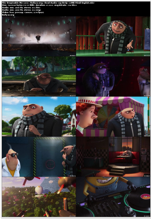 despicable me 2 in hindi download utorrent