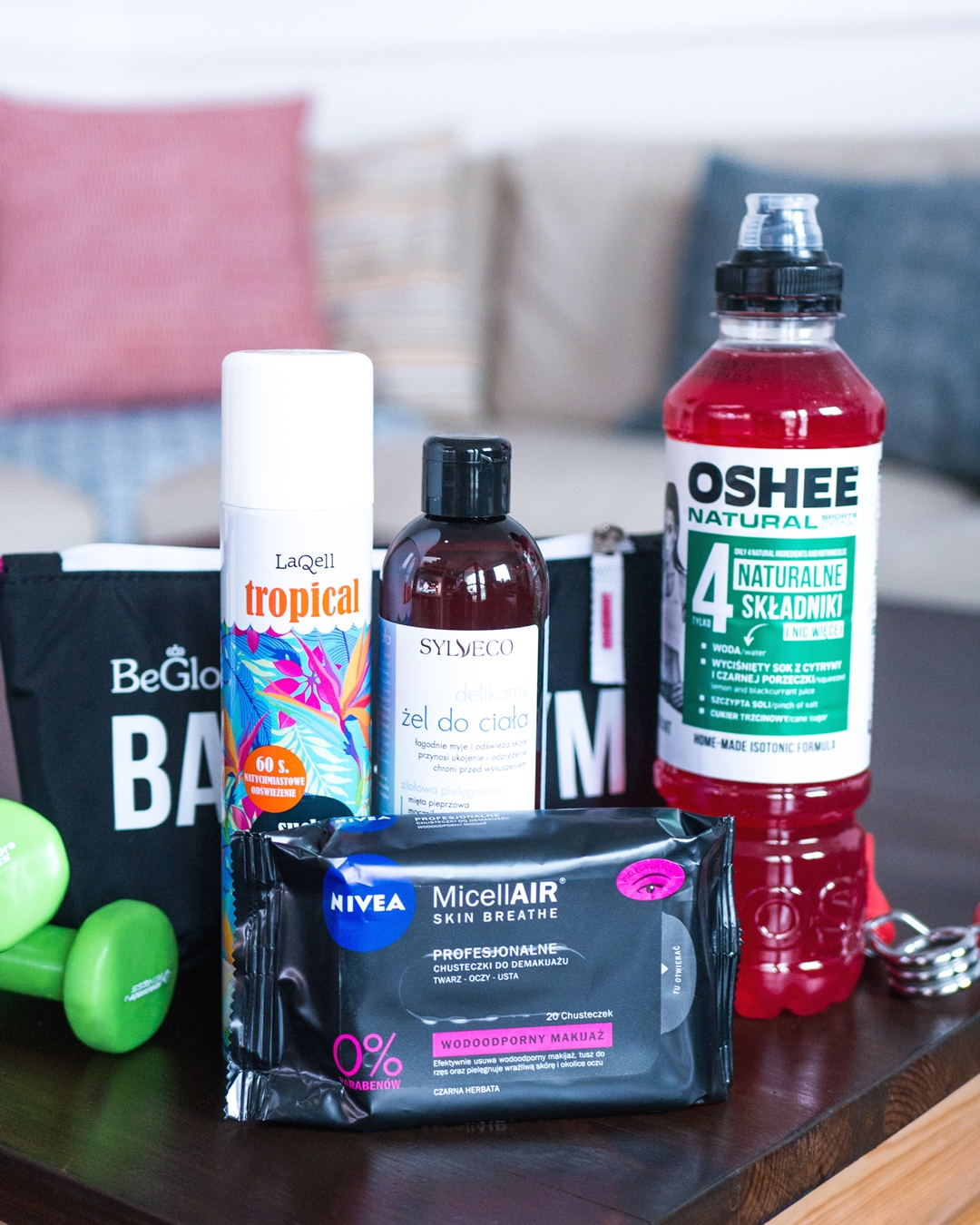 beGlossy | Back to the Gym powered by OSHEE