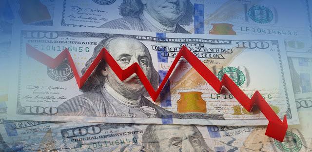 El dólar continua bajando