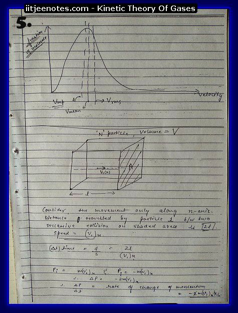 Kinetic Theory Of Gases5