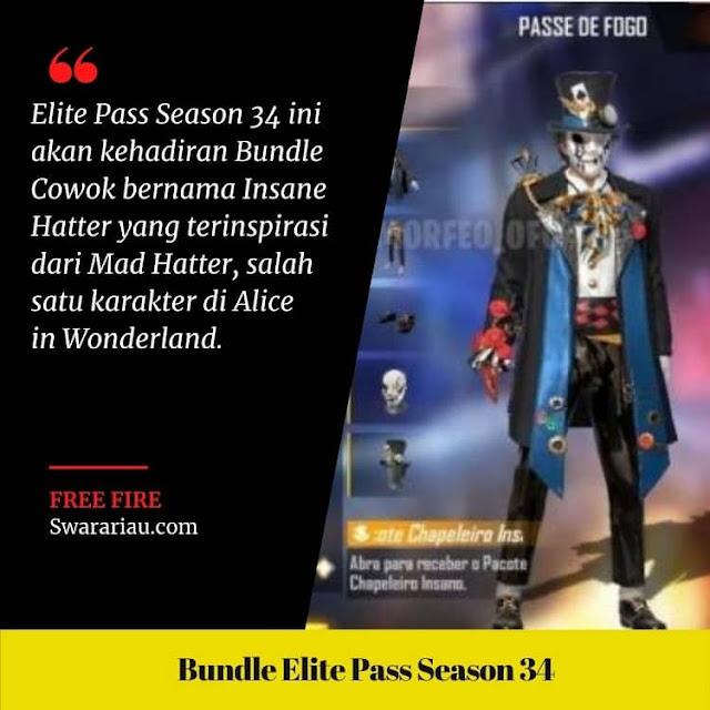 Bundle Cowok Elite Pass Season 34