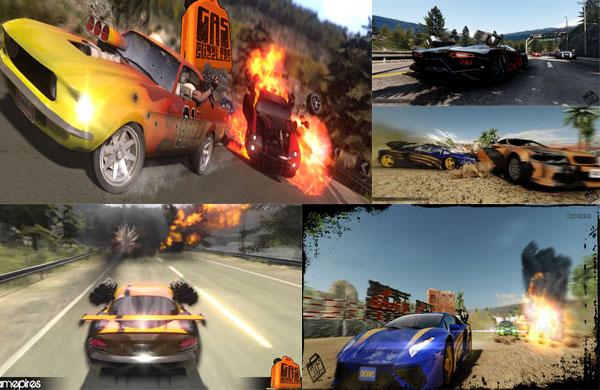 jogo de corrida e combate de carros e armas