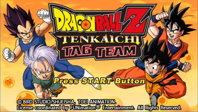 Dragon Ball Z Tenkaichi Tag Team PPSSPP CSO