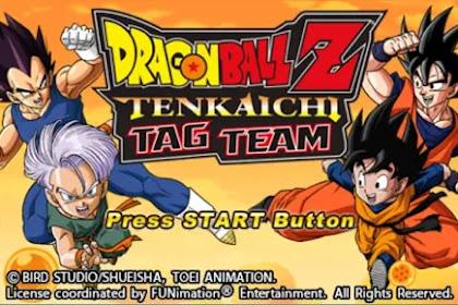 Dragon Ball Z: Tenkaichi Tag Team PPSSPP CSO