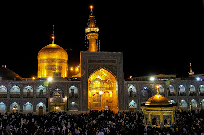 The most important shrine in Mashhad is the shrine of Ali Ben Musa Al-Reza, the eighth Imam of the Shia.