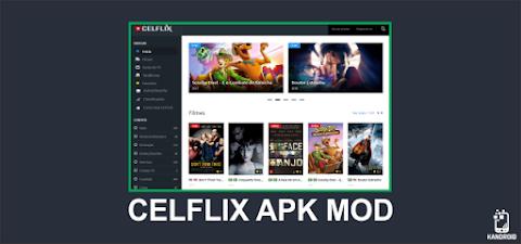 Como assistir series, filmes e muitos mais! | CelFlix Mod Kandroid - v5.1