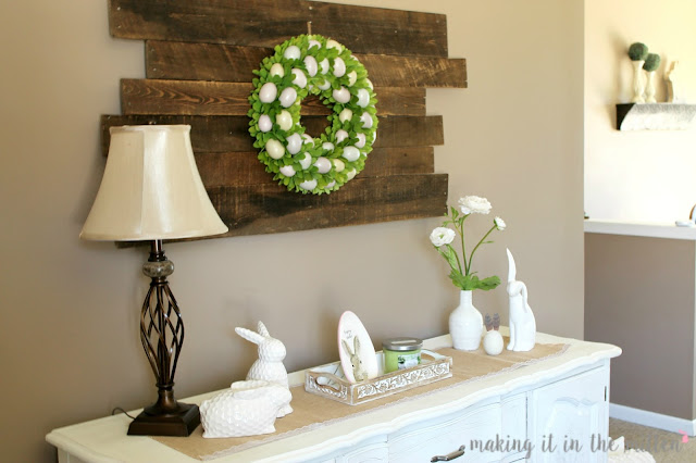 Making it in the mitten for Home goods easter decorations