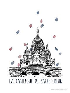 basilique du Sacré-Coeur, le Sacré Coeur, le FLE en un 'clic'