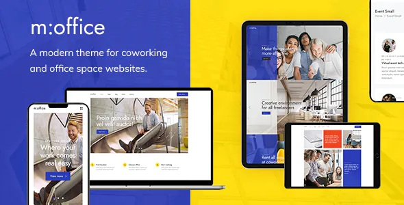 Best Coworking Space Premium WordPress Theme
