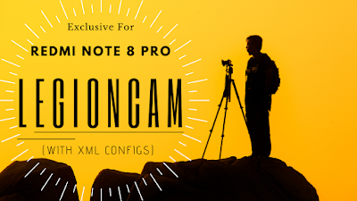 LegionCam V1 with configs for RN8P The Samsons