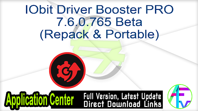 IObit Driver Booster PRO 7.6.0.765 Beta (Repack & Portable)