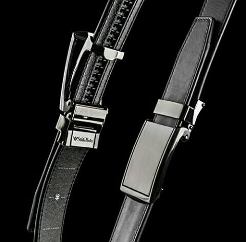 SlideBelts: Hole-Free Leather Belt for Men