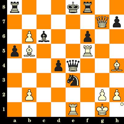 Les Blancs jouent et matent en 3 coups - David Bronstein vs Grigory Levenfish, USSR, 1946
