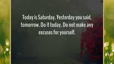 Saturday Motivational Quotes of the day