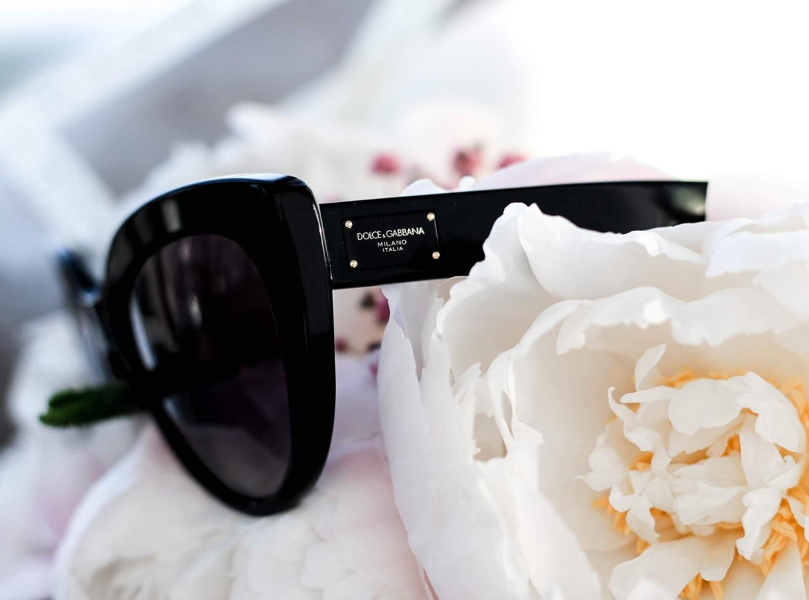 Dolce & Gabbana Cat Eye 4287 Black Sunglasses