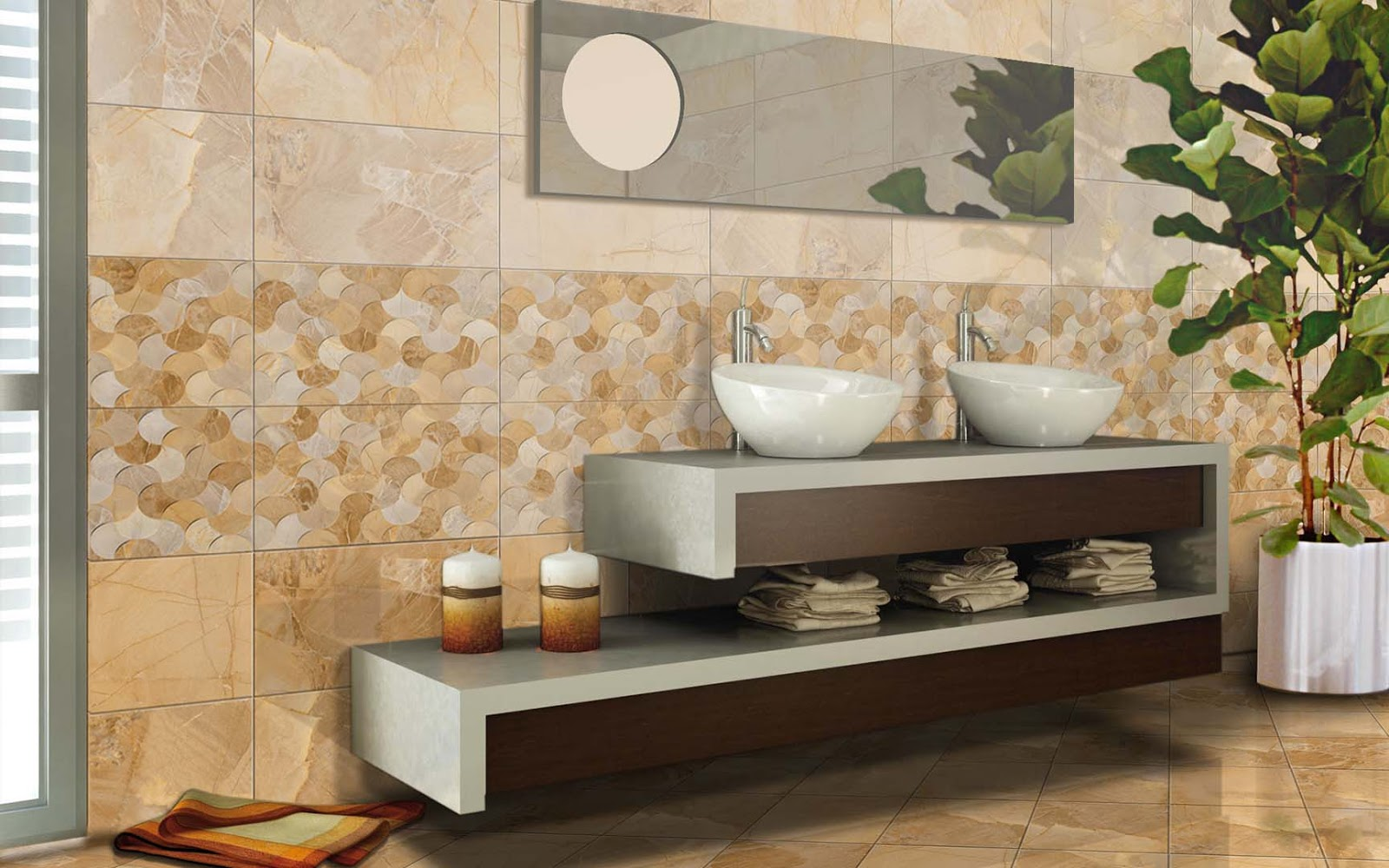 Keramik Bathroom Roman dLuxuria