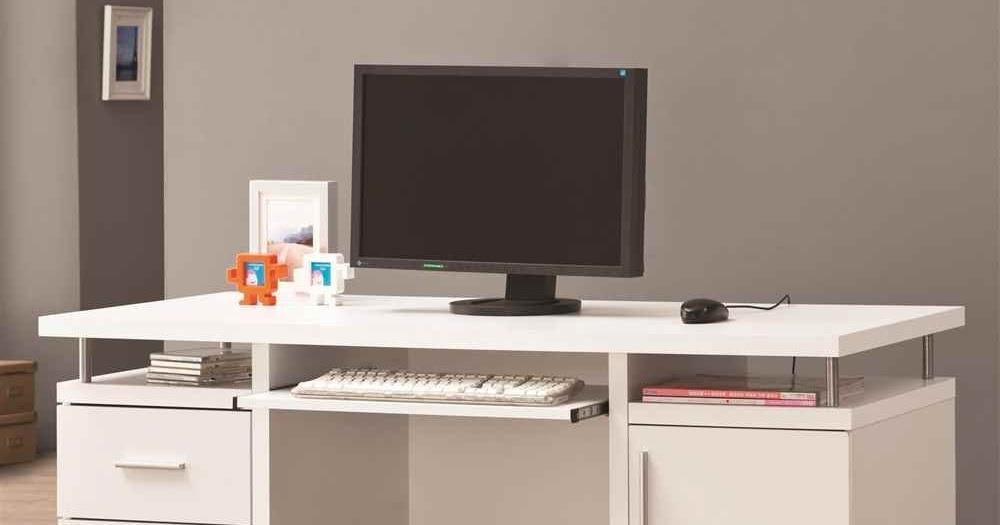 How To Buy White Computer Desk Online White Computer Desk