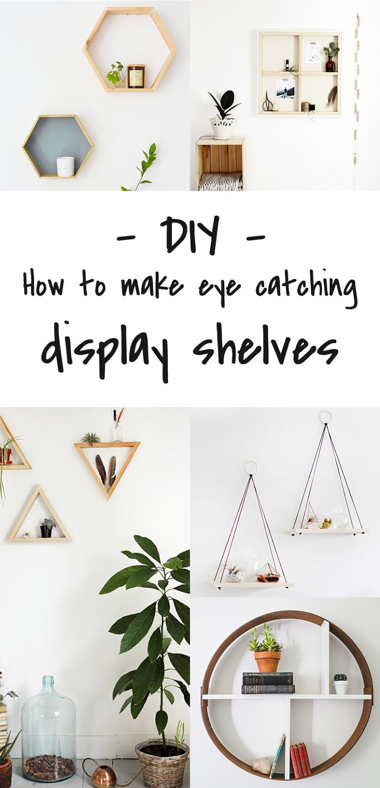 DIY to try # Display shelves