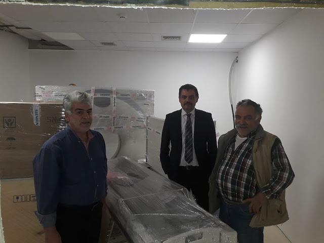 Γκιόλας: Ακόμη προσφέρει στην δημόσια υγεία η κυβέρνηση ΣΥΡΙΖΑ. Απέκτησε αξονικό τομογράφο το νοσοκομείο Ναυπλίου
