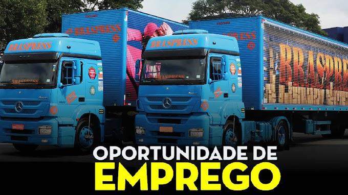 Transportadora Braspress abre vagas para motorista carreteiro