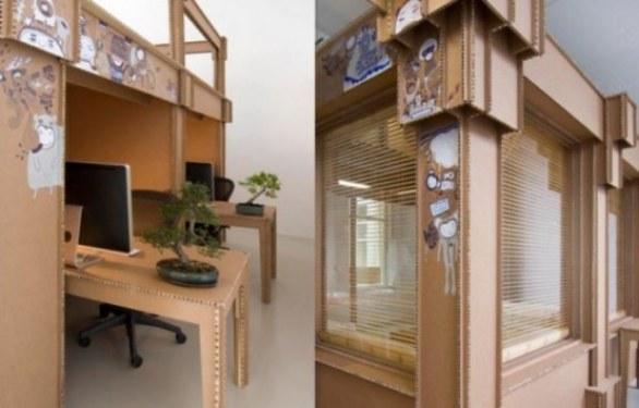 Arredare con il cartone architettura e design a roma for Arredamenti in cartone shop on line