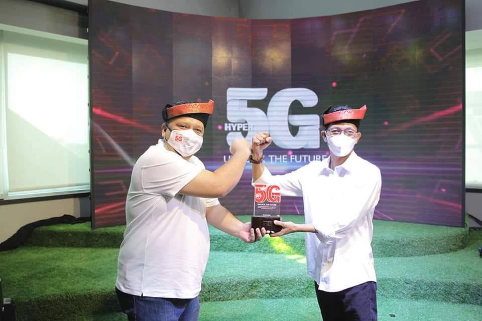Wakil Walikota Batam Meluncurkan Layanan 5G di Batam