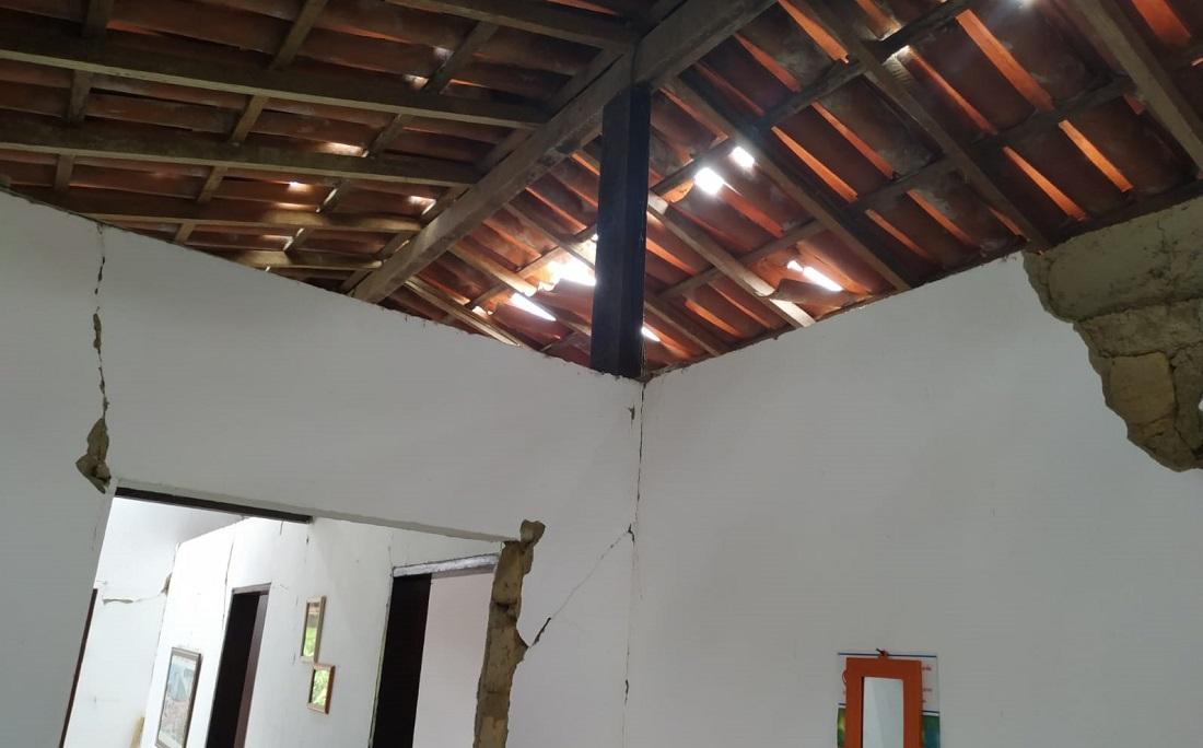 GOVERNO CONFIRMA EMERGÊNCIA EM SÃO MIGUEL DAS MATAS APÓS TERREMOTOS NA BAHIA