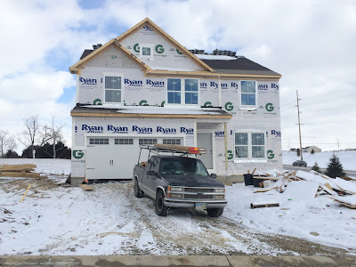 Ryan Homes garage door cottage elevation L