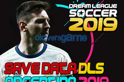 Download Save Data (profile.dat) Dream League Soccer Argentina National Team 2019/2020