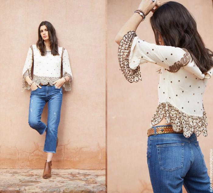 Blusas de moda invierno 2019. Ropa de mujer moda 2019.