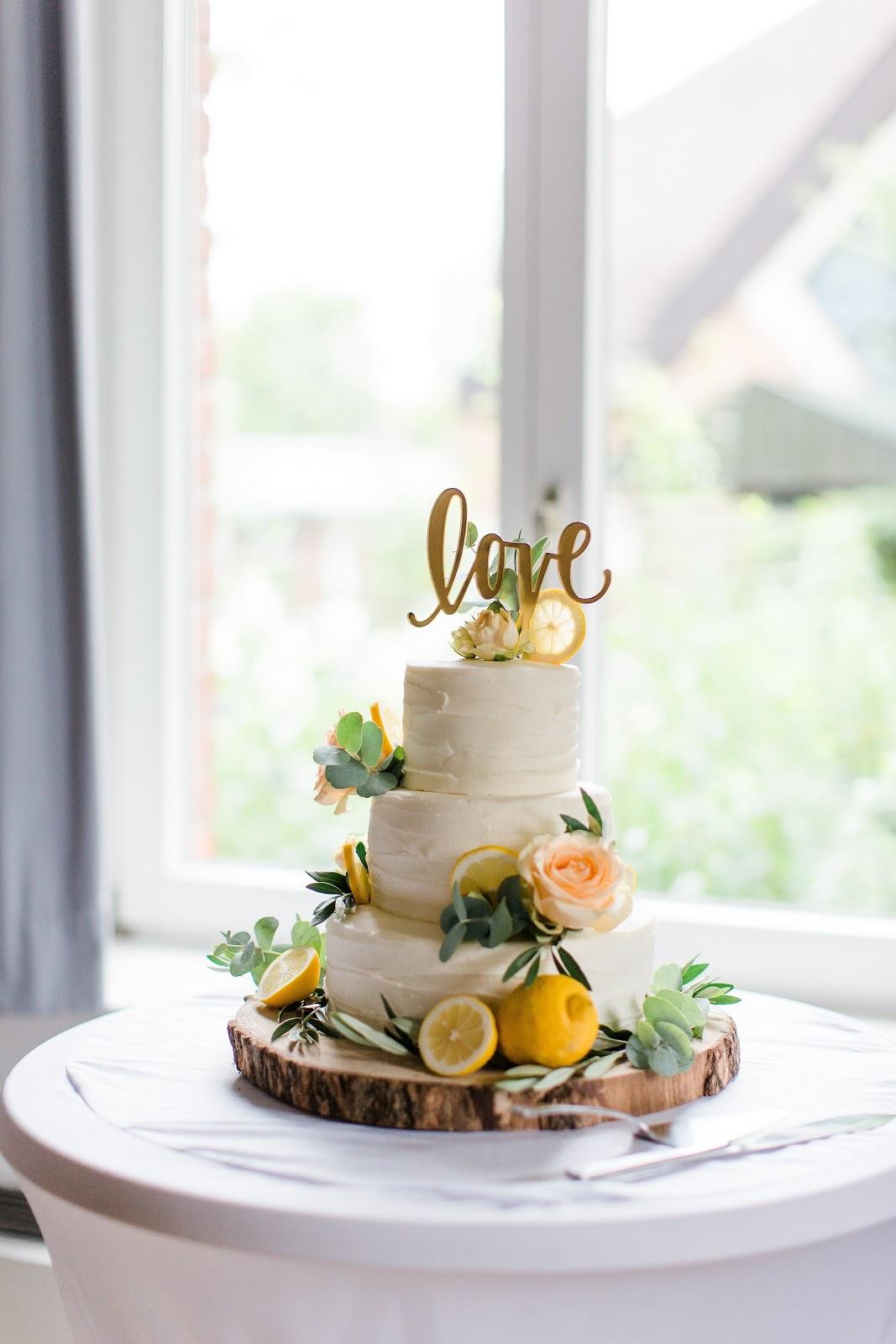 Wedding Cake Hochzeitstorte mediterran Limoncello