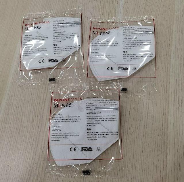 Khẩu trang N95 - Myone 5 lớp cao cấp chính hãng