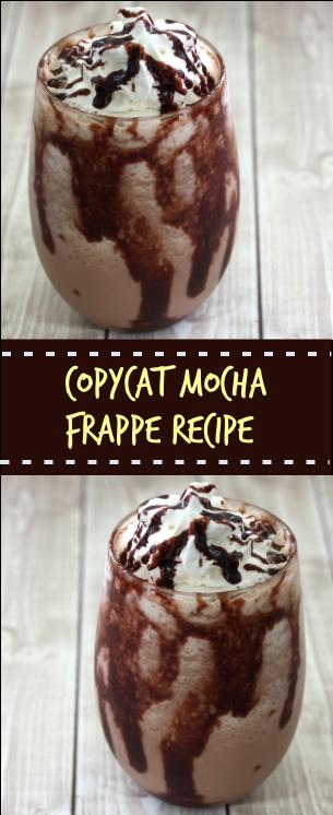 Copycat Mocha Frappe Recipe (Copycat McDonald's Frappe)