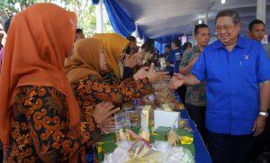 AHY Mengapresiasi  Kuliner Di Cirebon
