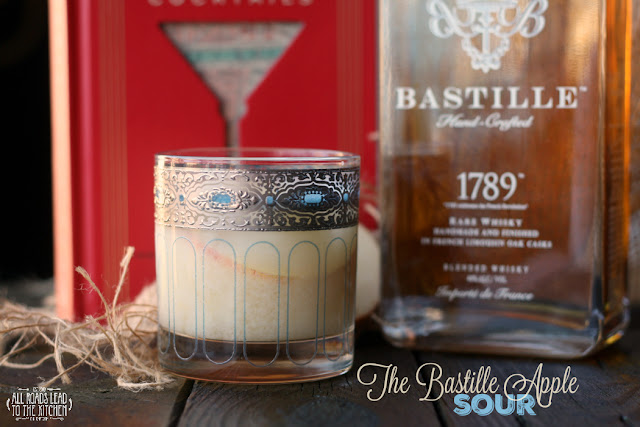 The Bastille Apple Sour and a #ParisCocktails Book Tour Stop