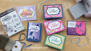 Last Chance Favorites: Stitched Nested Labels Dies Cards + VIDEO ~ www.juliedavison.com #stampinup