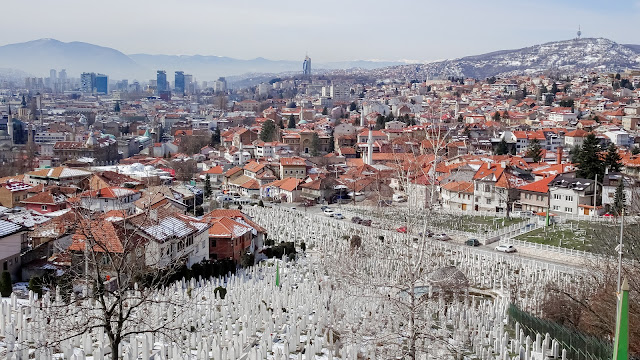 Great view in Sarajevo