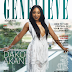 Dakore Akande is beautiful on the cover of Genevieve Magazine's May 2017 issue