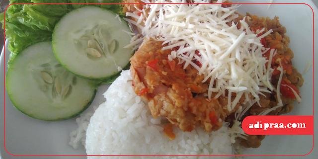 Ayam Geprek Yogya Chicken | adipraa.com
