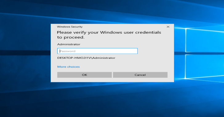 Pickl3 : Windows Active User Credential Phishing Tool
