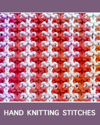 Learn Three and One Tweed Slip Stitch Pattern with our easy to follow instructions at HandKnittingStitches.com