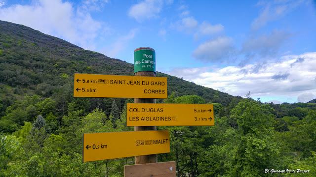 Senderos en Mialet - Francia, por El Guisante Verde Project