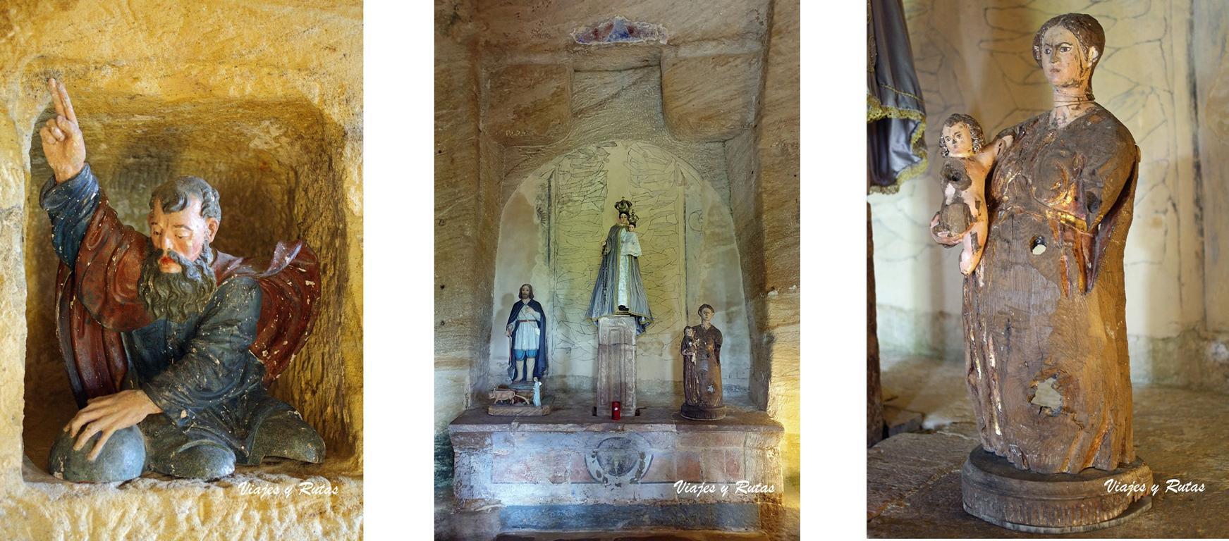 Decoración de la Iglesia de Olleros de Pisuerga