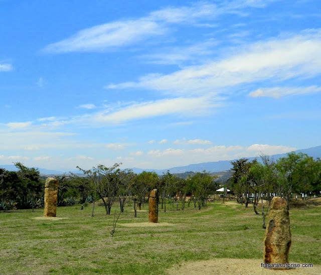 Tótens fálicos no Observatório Astronômico de Monquirá, ou El Infiernito, Villa de Leyva, Colômbia