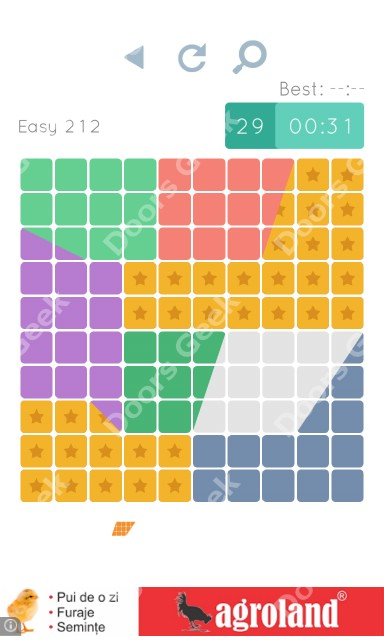 Cheats, Walkthrough for Blocks and Shapes Level 212